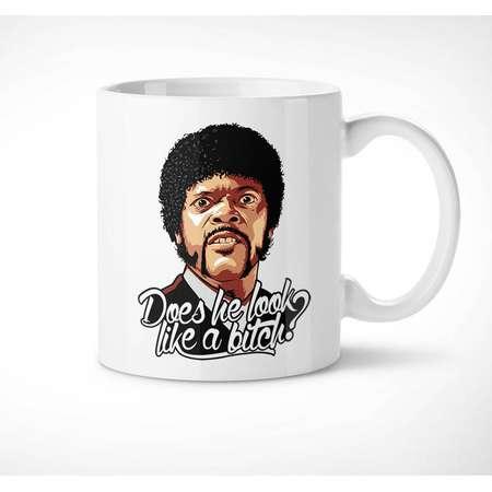 Pulp Fiction > Jules - Exclusive Mug // look like a bitch, quote, movie, quentin tarantino, cup, samuel l jackson, cinema, gift, film, tasse thumb