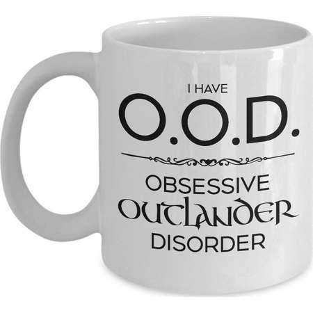 Funny Outlander Mug OOD Obsessive Outlander Disorder Jamie Fraser Outlander Cup Outlander Fan Gift Outlander Obsession #JAMMF Outlander Gift thumb