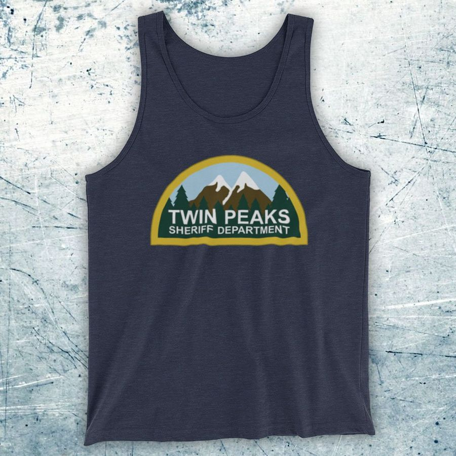 SHERIFF DEPARTMENT UNOFFICIAL TWIN PEAKS CULT TV SHOW TOTE BAG LIFE SHOPPER