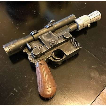 Han Solo Dl-44 Blaster display piece cosplay Star Wars thumb