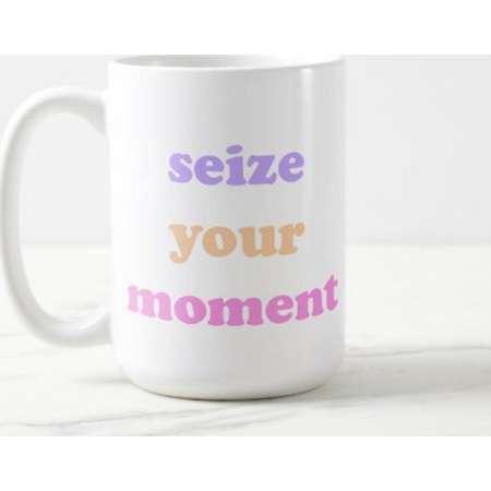 Coco Pixar | Seize Your Moment | Coco | Inspirational | Disney Pixar | OVERSIZED Mug thumb