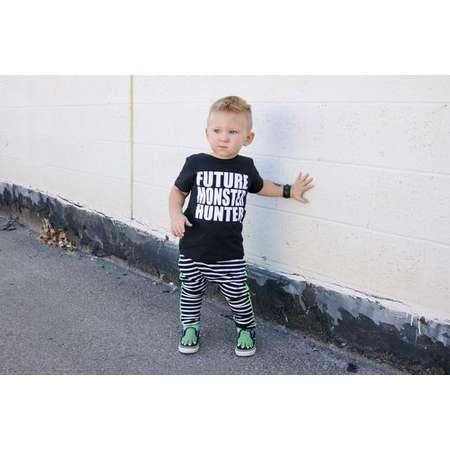 Future Monster Hunter Kids Tee- Supernatural Shirt, Monster T-Shirt, Monster Halloween Costume, Trendy Baby Clothes, Modern Kids Clothing thumb