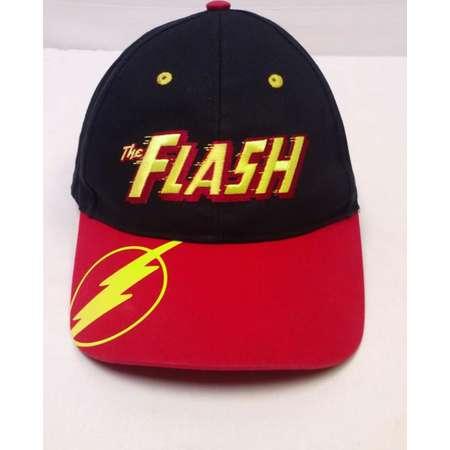 "Vtg. 90's Six Flags Theme Park ""The Flash"" Roller Coaster Ride Adjustable Snap Back Baseball Hat Cap thumb"