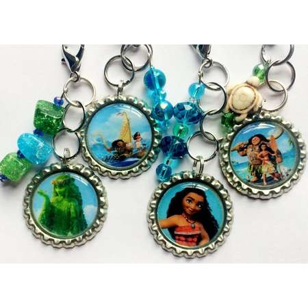 Moana Keychains, Moana Backpack Accessories, Moana Party Favors thumb