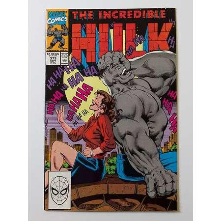 The Incredible Hulk Number 373 1990 thumb