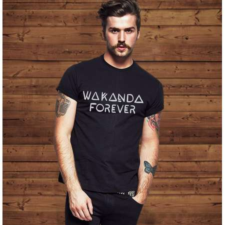Wakanda Forever Black Panther T Shirt Tee |  Men & Women T shirts thumb
