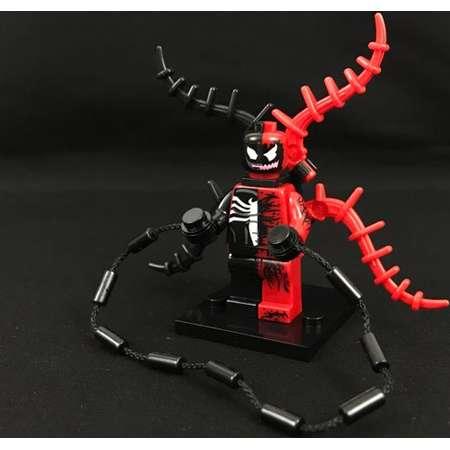 Venom Carnage Cross Minifigure Spider-Man Marvel Comics Avengers USA Fast! thumb