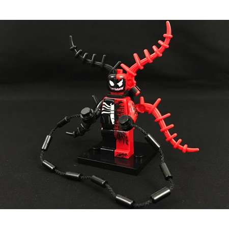Venom Carnage Cross Minifigure Spider-Man Marvel Comics Avengers USA Fast! thumb