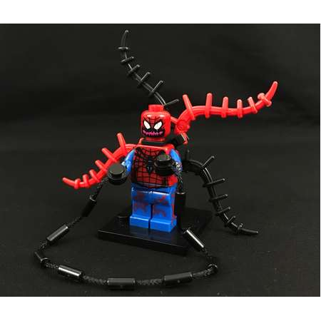Carnage Spiderman Minifigure Spider-Man Marvel Comics Avengers USA Fast! thumb