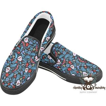 Pixar Coco Inspired Slip-on Shoes // Disney Cruise Line, Disneyland, Disney World, DCL // Comic Con, Costume, Cosplay thumb