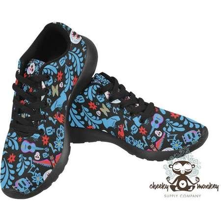 Pixar Coco Inspired Custom Sneakers Shoes // Disney Cruise Line, Disneyland, Disney World, DCL // Travel, Comic Con, Costume, Cosplay thumb