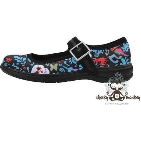 Pixar Coco Inspired Custom Mary Jane Flat Shoes // Disney Cruise Line, Disneyland, Disney World, DCL // Travel, Comic Con, Costume, Cosplay thumb