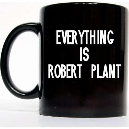 Everything Is Robert Plant Mug, Rock N Roll Gift, Coffee Mug, Hot Coco Mug thumb