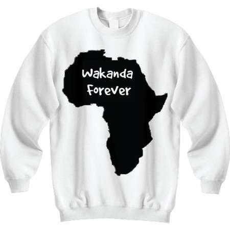 Wakanda Forever Black Panther Inspired Unisex Sweatshirt thumb