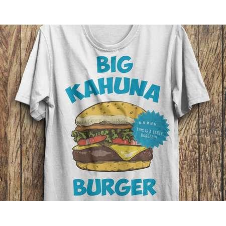 Big Kahuna Burger Shirt, Pulp Fiction 2 T-Shirt M37 thumb