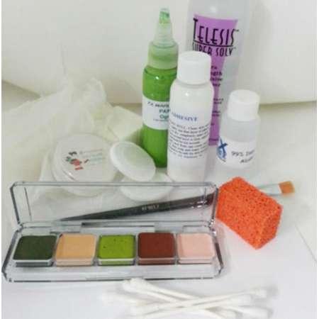 Shrek Professional Makeup Kit for Foam Latex Prosthetics Theatre thumb