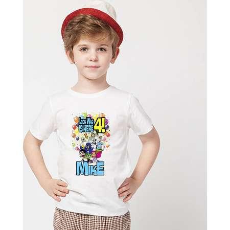 Teen Titan's Go! Birthday Shirt,Teen Titan's Go Custom Shirt, Personalized Teen Titan's Go Shirt, Titans's family shirts, Birthday t-shirts thumb