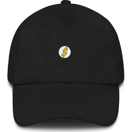 Flash Hat - Flash Dad Hat - The Flash - The Flash Dad Hat - Flash Cap - The Flash Cap - Flash Gift - The Flash Gift - Flash Comic - DC Comic thumb