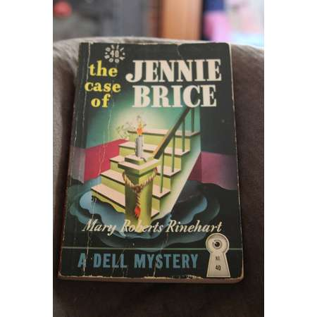 vintage pulp fiction paperback book the case of jenny brice 1941 mary roberts rinehart mystery thumb