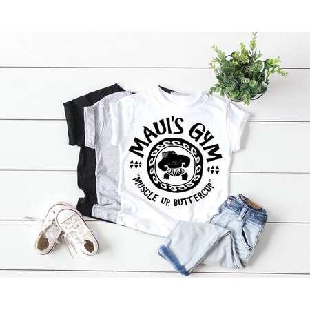 acce0d21 Maui's Gym | Muscle Up Buttercup | Moana Shirt | Moana Inspired Shirt | Disney  Shirts