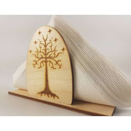 Napkin Holder - Lord of the Rings: The White Tree of Gondor , the hobbit , the rings , the shire thumb