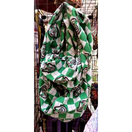 Slytherin Flannel Harry Potter Infinity Scarf thumb