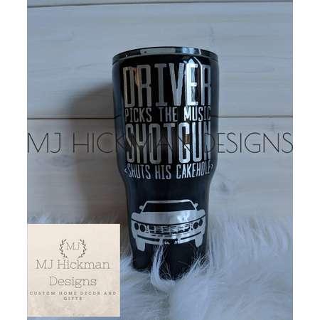 Supernatural- custom tumbler, personalized tumblers, personalized travel mug, drinkware thumb