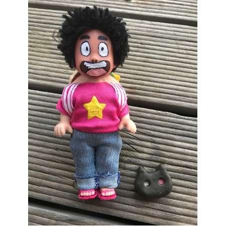 Steven Universe Doll Repaint OOAK Custom Cartoon Network hamburger backpack cookie cat thumb