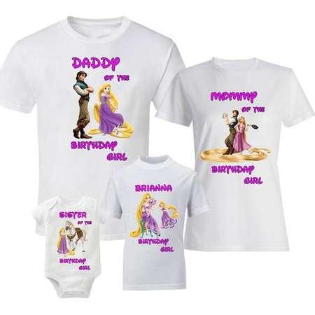 Birthday Tangled Shirts Family Shirt T Rapunzel Flynn Rider Maximus