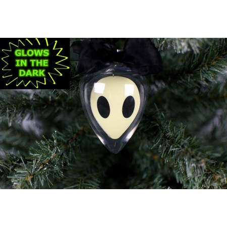 Stoner Gift, Alien Ornament, Glow In The Dark Ornament, Marijuana Accessory, Alien Decor, X Files, I Want To Believe, Spaceship, Weed Gift thumb