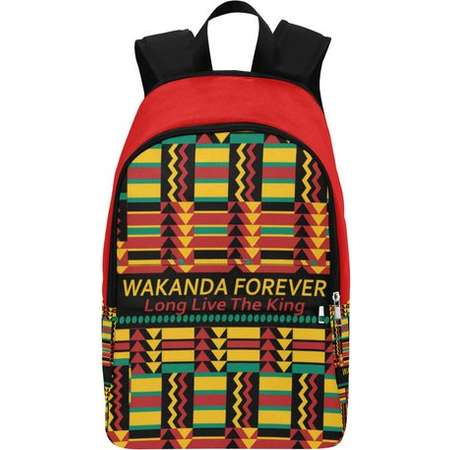 Wakanda Forever Custom Fabric Backpack thumb