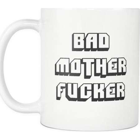 Pulp Fiction Inspired Bad Mother Fucker Coffee Mug, Cup thumb