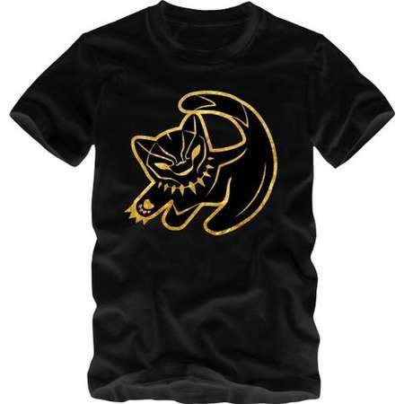 Black Panther Black Gold T-Shirt Wakanda Style Marvel Movie Type Craze Men Toddler Youth Sizes thumb