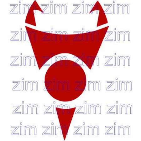 Invader Zim Cartoon Irken Symbol Design Files svg studio3 pdf jpeg cut file print and cut anime manga comic book Alien outer space invaders thumb