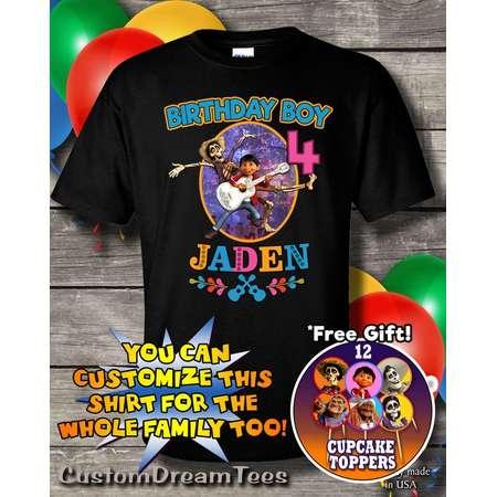 Coco Birthday T Shirt, Coco Custom Shirt, Personalized Coco Shirt, Coco shirts for Birthday, Birthday t-shirt, for girls, for boys thumb