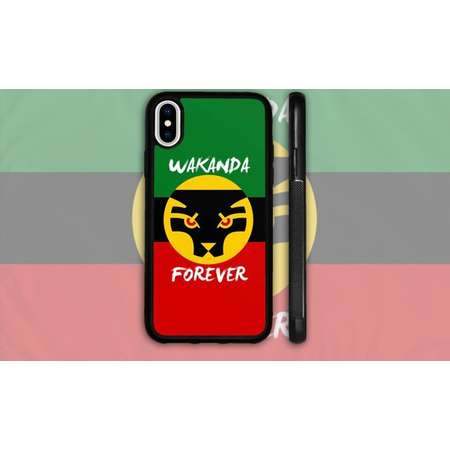 Wakanda Forever Phone Case - CUSTOMIZABLE thumb