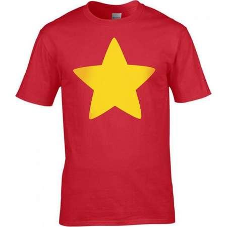 Steven Universe Gold Star T-shirt Cosplay Costume thumb