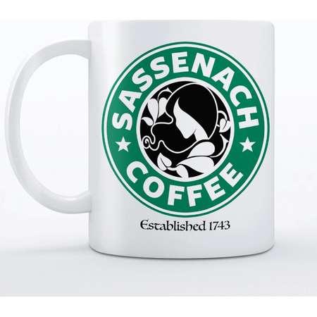 Outlander Mug | Outlander Gift Idea | Sassenach Coffee - 11oz or 15oz, Ceramic Mug (Ships FREE) thumb