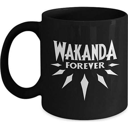 Wakanda Forever coffee mug black panther merchandise thumb
