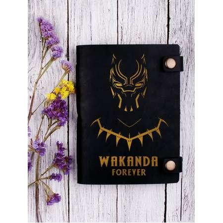 Wakanda journal - Wakanda forever - wakanda notebook - wakanda gift - black panther journal - black panther notebook - black panther gift thumb