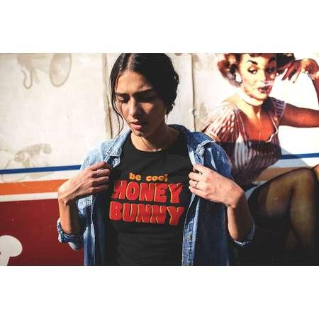 Aesthetic, Aesthetic Clothing, Pulp Fiction, Quentin Tarantino, Graphic Tee, Unisex Tee, Tee, Tshirt, T-shirt, Honey Bunny Shirt thumb
