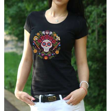 Coco Shirt sugar skull T-shirt Movie tshirt Coco Family tree shirt Women's shirt geek t-shirt Coco Shirt Disney shirt Guitar shirt thumb