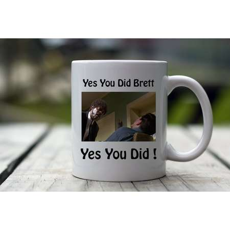 Yes you did Brett Yes you did, Pulp Fiction, Pulp Fiction Coffee Mug, Pulp Fiction Gift, Pulp Fiction Gift Idea, Pulp Fiction Gift Mug, Mug thumb