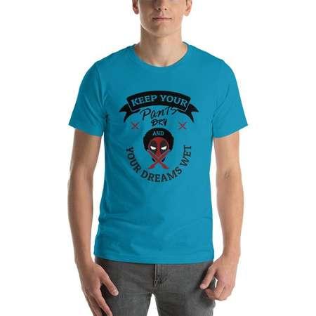 Deadpool / Bob Ross Mashup T-shirt thumb