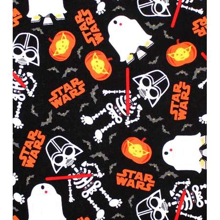 Custom Fitted Crib ~ Toddler Bed Sheet  ~ Halloween ~ Star Wars thumb