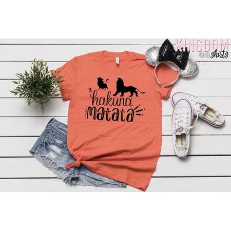 64269c6e Hakuna Matata Shirt | Disney Shirt | Timon and Pumba Shirt | Disney Unisex  T-Shirt | The Lion King T-Shirt | Disney Movie Unisex Tee