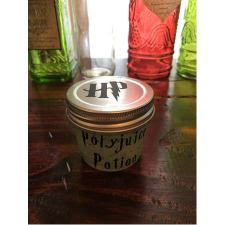 Polyjuice potion, Harry Potter, party favors, Hogwarts, containers, potions, slime, gifts, wolfsbane potion, polyjuice favor, polyjuice thumb