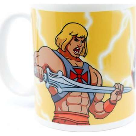He Man MOTU Masters of the Universe 11oz Coffee Mug Sublimated Retro 80s Cartoon thumb