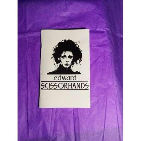 Edward Scissorhands Paperback Notebook thumb