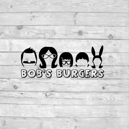 Bob's burgers heads SVG, instant download, svg png dxf, cricut, cameo, silhouette, vinyl design, heat press file, bob's burgers thumb